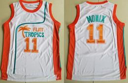 59772269844 2018 new Men Semi Pro Movie Flint Tropics  33 Jackie Moon Jersey 7 Coffee  Black 11 ED Monix Green White Stitched Basketball Jerseys