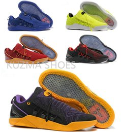 low priced 17672 c83c3 New Basketball Schuhe Herren KOBE A.D. NXT 12 Männer KB Volt Weiß Schwarz  AD WOLF GRAU Zoom Sportschuhe, Rabatt billig Trainingsschuhe neue kb schuhe  im ...