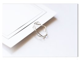 Wholesale Life Size Female - Life interwoven DNA personality hollowed-out food ring female Korean version of the opening can adjust creative simple personality pure silv
