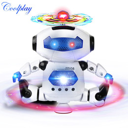 Wholesale Finish Music - Coolplay Cp99444 -2 Smart Space Dance Robot Electronic Walking Toys With Music Light Gift For Kids Astronaut Toy To Child