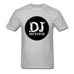 1e4a0d36ade39 Hip Hop Official DJ Dictator Apparel T Shirts Father Day Round Neck 100%  Cotton Tops Shirt Male Tshirts Design Heavy Metal Band