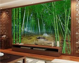 Canada Beibehang Grand fond d'écran personnalisé forêt de bambou naturel HD photo 3D fond d'écran salon chambre TV papel de parede Offre