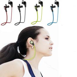 Trasduttore auricolare q9 online-Auricolari Bluetooth Q9 Cuffie stereo senza fili stereo Auricolari da corsa in-ear Auricolari Bluetooth per iPhone samsung phone