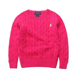 Детская одежда поло онлайн-Бренд высокое качество школа мальчиков и девочек верхняя одежда одежда дети свитер детская одежда мода дети поло свитера