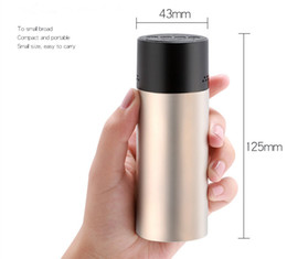 Wholesale Outdoor Speakers Best - Wireless Best Bluetooth Speaker Portable Outdoor Mini Column Box Loudspeaker Speaker Design for iPhone Xiaomi Free Shipping