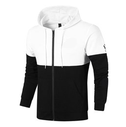 Wholesale Long Coats For Women - Sports Leisure Men and Women Hooded Cotton Sweater New Fashion Brand Man's Coat Plus Size L-4XL Trend Clothes for Men