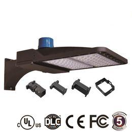 2019 zellsensoren Foto-Bewegungs-Sensor LED Shoebox-Parkplatz beleuchtet 100W 150W 200W IP66 im Freien Straßen-Pfosten-Licht mit UL DLC verzeichnet günstig zellsensoren