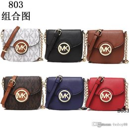 Wholesale Branded Name - 2018 styles Handbag Famous Designer Brand Name Fashion Leather Handbags Women Tote Shoulder Bags Lady Leather Handbags Bags purse 806 k