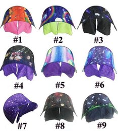 Wholesale Dreams Night Light - 2018 9 Styles 82*220cm Kids Dream Tents Folding Type Unicorn Moon Cosmic Space Baby Mosquito Net Without Night Light Bed Sleeping Tent