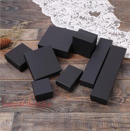 Vente en gros et au détail de la boîte à papier Kraft noir pliage boîte de papier masque masque à sucre noir bijoux Cosmétiques à la main savon boîte d'emballage de cadeau ? partir de fabricateur
