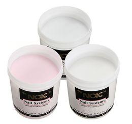 2020 dicas de unhas cor-de-rosa 1 pc 120g Pro Acrílico Super GRANDE Tamanho Nail Art Builder Ferramentas Dicas Branco Claro Rosa Manicure Kit de Beleza dicas de unhas cor-de-rosa barato