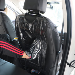 cleaning mats Coupons - New Car Seat Back Protector Clear Cover For Kids Children Kick Mat Backseat Mud Cleaner Protect From Dust Dirty Auto Accessories