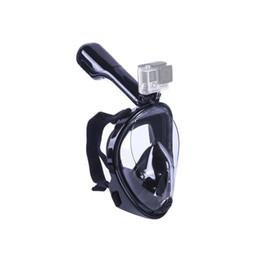 2018 New Underwater Scuba Anti Fog Máscara de Mergulho Máscara Respiratória Máscara de Mergulho Máscara Facial Seguro E À Prova D 'Água cheap d mask de Fornecedores de máscara