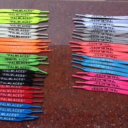 Argentina Longitud 40-50 pulgadas Blanco negro verde naranja azul impresión cordones de los cordones de los cordones de los zapatos de los cordones de los zapatos del diseñador de la moda Conveniente para los zapatos con cordones 1-1.2m cheap inch blue shoes Suministro