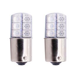20pcs S25 1156 BA15S p21w LED White Lights 5050 12SMD Silica gel DC12V Car Rear Tail Parking Light brake Lamp turn Signal Bulb