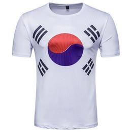 Wholesale Polka Dot Jersey - 3d Shirt Printing T Shirts White Tees 2018 World Cup Jersey Tai Chi Tiger Shorts Men 3d Clothing Short Sleeve Fashion Shirts Cotton