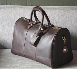 Wholesale duffle style handbags - 2016 new fashion men women travel bag duffle bag, brand designer luggage handbags large capacity sport bag 60CM