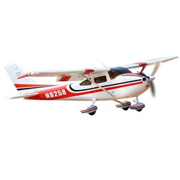 Wholesale Radio Model Planes - 1410mm Cessna 182 RC airplanes Radio control airplane plane frame kit EPO toys hobby model aircraft aeromodelismo aeromodel