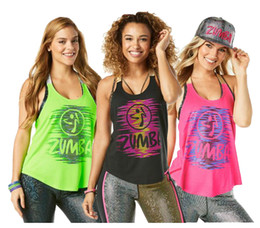 Wholesale Get Clothing - women vest racerback dance vest sports clothes Get Up And Dance Tank free shipping