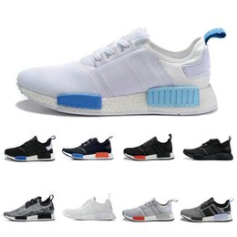 Wholesale perfect clear - 2017 Cheap Wholesale Hot NMD R1 R2 Primeknit PK Perfect Authentic Running Sneakers Fashion Running Shoes NMD Runner Primeknit Sneakers