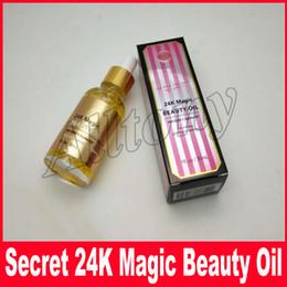 Wholesale Magic Oils - 24K Magic Beauty Oil essence Makeup 30ML 24K Gold + Jojoba Oil face primer New in box