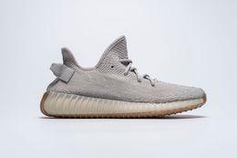 Wholesale Blue Lace Socks - 2018 ice yellow Sesame F36980 350 V2 shoes B37572 Yellow Zebra With Box Receipt Keychain Socks size 36-46 Kanye West Running Shoes