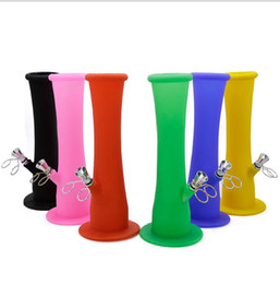 Wholesale Protection Bottle - New Foldable Soft Water Bottle Environmental Protection Silicone Color Water Pipe