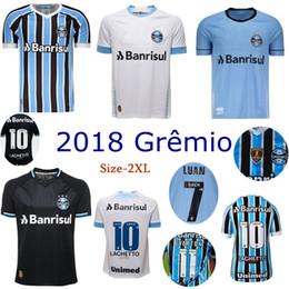 2018 Gremio soccer Jersey home away 3rd FERNANDINHO LUAN GEROMEL LUCAS  ARTHUR 18 19 thai quality Brazil league football shirts 6a209d5ea