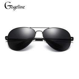 b12ffec37df Gafas de sol Gogeline Pilot Aviador Hombres Mujeres polarizadas Gafas de  sol de diseñador de marca Gafas vintage de aviación aviador baratos