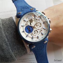 4c6a7a747b7 44 MM Marca de Luxo Top James Bond 007 Skyfall Relógio Movimento Automático  Homens Relógios Esportes Moda Mens Relógio De Pulso