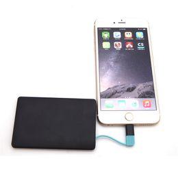 Caso para 5s mini online-NUEVO mini banco delgado del poder de la batería del banco de la energía de 3000 mAH powerbank para el iPhone 6 6 más 5 5s 5c para S5 S4 S3 Note 4 3 para Xiaomi