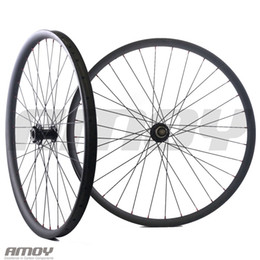 Mtb rims online-Cerchi in mountain bike full carbon Anteriore Lefty con mozzi posteriori 792 mtb bicycle 30mm wide wheelset wheels in carbonio27.5er MTB AM ENDURO 32
