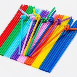 Wholesale Plastic Tube Bag - Color art pipe Transparent suction tube Black sucker Color sucker 100 branches   bags 50 branches   bags T4H0392