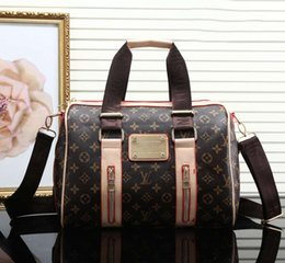 Wholesale ladies luggage bags - Women Fashion Designer Luxury Handbags Shoulder Luxury Brand Messenger Bag Packet Ladies Bag Large Capacity Luggage