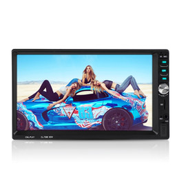 "2019 auto armaturenbrett tvs 2018 Neueste 2 Din Android Autoradio Stereo 7 ""1024 * 600 auto universal Player spiegel link mit Bluetooth USB MP5 Player"