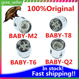 Wholesale Beast Tank - 100% Original TFV8 BABY Beast Tank Coils Head V8 Baby-T8 T6 X4 M2 Q2 Core Free shipping with DHL