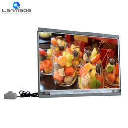 Полный HD торговый человеческого тела индукции oem портативный dvd-плеер 15-дюймовый экран 1080p монитор ЖК-дисплей с датчиком движения от