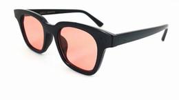 sonnenbrillen farbige linsen Rabatt Mode Korea Stil Farbige Linse Sonnenbrille Frauen Marke Designer Platz Rosa Sonnenbrille Platz Vintage Sonnenbrille UV400 10 teile / los