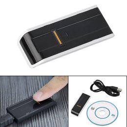 2019 внешняя веб-камера Биометрический читатель фингерпринта USB безопасности пароль замок для ПК