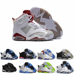 Wholesale Green Suede Boots Women - Wholesale Mens Air 6s VI Basketball Shoes High Quality Sports Running sneakers for Women men Trainers Athletics Boots 6 shoes
