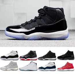 hot sale online a7470 bdcb7 air jordan retro 11 Nueva concord 11 gorra y vestido zapatos de baloncesto  hombres mujeres Prom Night Platinum Tinte GANAR COMO 96 82 criado gamma  azul ...