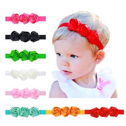 Headwear Headband Shabby Flowers Lace Net Yarn Chiffon Hairband Flower  Headband Girls hair Accessories h163 f00fcafcd5c5