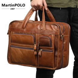 Genuine Leather Messenger Bag Men Shoulder Bag Casual Male Briefcases Laptop  Handbags New Design Leather Bags Crossbody 9913 cac9788ba8bd8