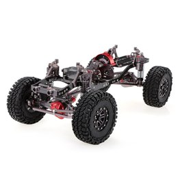 Wholesale rock crawlers - RC Car 1 10 Racing CNC Metal Aluminum & Carbon Frame AXIAL SCX10 Chassis 313mm Wheelbase Rock Crawler Cars Assemble DIY Parts