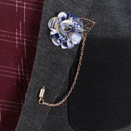 Canada Main Fleur Fleur Revers Boutonnière Bâton Broche Femmes Hommes Anniversaire Banquet Charme De Fête De Noël Corsage Broches Broches Tuxedo Suit Ornement Offre