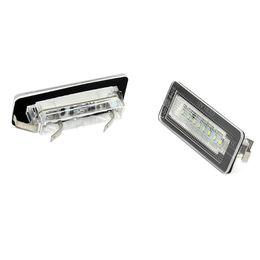 Sensor de código on-line-2X conduziu o estilo do carro Canbus Nenhum código de erro lâmpada Da Placa de Licença Para Smart Fortwo número traseiro placa de luz auto acessório
