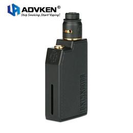 Nouveau kit de raclage Advken CP d'origine avec capacité de 2 ml, réservoir de réservoir d'incendie RDA, conception du verrou de bouton anti-feu, kit e-cig vape, sans pile ? partir de fabricateur