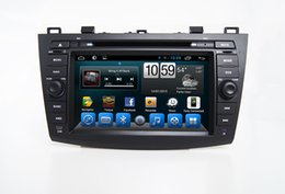 Wholesale Mazda Android Radio - Cortex A7 Quad core 1.6GHz, R16 Mazda 3 Special Android Car Dvd Player with Radio Tuner GPS TV Bluetooth