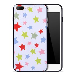 Wholesale Embossment Case Iphone - 3D Embossment Fashional Pattern Printing Nondeflecting Silicone Bumper Slim Scratch TPU Case For iPhone 8 7 6S 6 Plus Embossed Back Cover