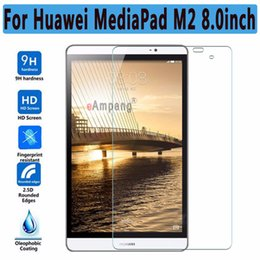 huawei mediapad m2 Sconti Vetro temperato antideflagrante Clear Thin HD ultra sottile per Huawei MediaPad M2 8.0 Pellicola salvaschermo per Huawei MediaPad M2